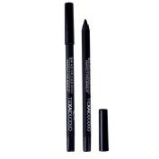 Gel Eyeliner Pen-Luismia Black Waterproof Essence Eye Liner Pencil- Makeup Colloid Eyeliner Crayon All Day -Oil Free Eyeliner Marker