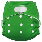 Imagine Baby Products Rayon From Bamboo All-In-One Hook and Loop Nappy, Emerald