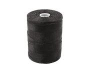 C-LON Micro Bead Cord, Black - 0.12mm, 320 Yard Spool