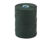 C-LON Micro Bead Cord, Forest Green - 0.12mm, 320 Yard Spool