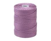 C-LON Fine Weight Bead Cord, Orchid - 0.4mm, 136 Yard Spool