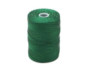 C-LON Fine Weight Bead Cord, Green - 0.4mm, 136 Yard Spool