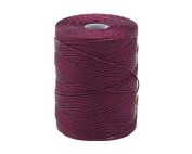 C-LON Fine Weight Bead Cord, Eggplant - 0.4mm, 136 Yard Spool