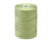 C-LON Fine Weight Bead Cord, Peridot - 0.4mm, 136 Yard Spool
