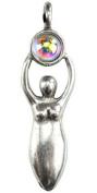 Azuregreen Wicca Intuition Spiritual Amulet Pendant