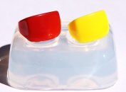 Clear handmade Silicone ring mould, size 2-3!