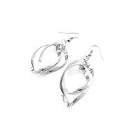 2 Pairs Earrings Ear Jewellery Making Charms Ear Stud Hooks Clips Pin Cuff L0986 Water Drop