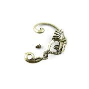 1 Pieces Earrings Ear Jewellery Making Charms Ear Stud Hooks Clips Pin Cuff N0862 Left Side Eagle