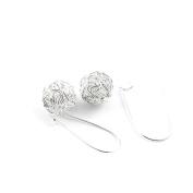 2 Pairs Earrings Ear Jewellery Making Charms Ear Stud Hooks Clips Pin Cuff F0474 Wire Ball