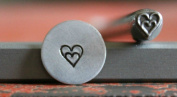 Supply Guy 5mm Double Heart Metal Punch Design Stamp WM-21