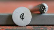 Supply Guy 5mm Leaf Metal Punch Design Stamp F-30