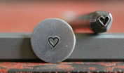Supply Guy 4mm Heart Metal Punch Design Stamp F-26