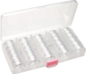 STORAGE 25 in 1 organiser STACKABLE CONTAINER IN REUSABLE CARRYING CASE