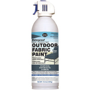 Deval Products OF004600 Outdoor Spray Fabric Paint, 390ml, Charcoal