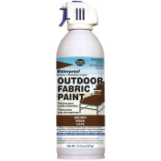 Deval Products OF0046002M Outdoor Spray Fabric Paint, 390ml, Brown