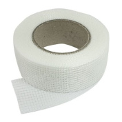 32 Rolls 20m x 5.1cm Self Adhesive Fibreglass Cloth Tape White Mesh for Drywall
