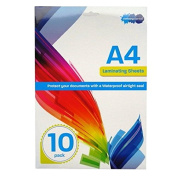 A4 Laminating Sheets - Pack of 10 - bystationeryEssentials