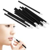 Creazy® 100PCS Disposable MakeUp Lip Brush Lipstick Gloss Wands Applicator Make Up BK