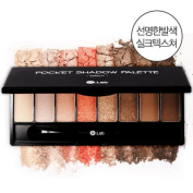 W.Lab Pocket Palette Eye Shadow Silk Texture for Daily Eye Makeup Tool Kit 7g
