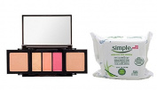 Kristofer Buckle Sculpt and Define Contour Palette Makeup Plus Bonus Gift Make-up Remover