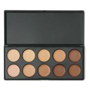 10 Colours Professional Concealer Camouflage Makeup Palette Contour Face Contouring Cream Concealer Foundation Set