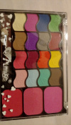 Amuse 16 Brilliant Colour Eyeshadows and Blush Palette #01