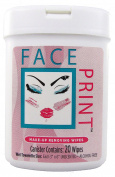 Face Print (New!) - Make-Up Removing Wipes 40ct (2 x 20ct canisters per order) **Special Introductory Pricing**