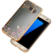 UCLL Galaxy S7 Case, Grass and Flower Protective Case for for  for  for Samsung   Galaxy S7 with a Screen Protector