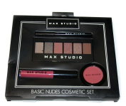 MAX STUDIO Basic Nudes Cosmetic Set