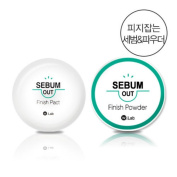 W.Lab Sebum Out Finish Pact for Skin Pore Cover Long Lasting Makeup Fix 9.5g