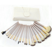 ZENITH FASHION New Arrival Professional Wool Cosmetic Makeup Brushes Set