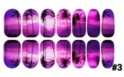 1 Sets Agile Popular Nails Art Stickers 3D Scenery Transfer Decoration Decals Manicure Tips Style 03