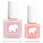 ella+mila Nail Polish, mommy & me® set - So in Love + Cotton Candy