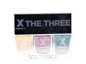 Formula X by Sephora 'The Three' Nail Colour Polish Set - Brain Power, Theoretical and Massive