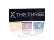 Formula X by Sephora 'The Three' Nail Colour Polish Set - Brain Power, Theoretical and Massive