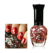 1-Pc Magnificent Popular Hots Nails Polish Lacquer Non-Toxic Soak-Off Gel Effect Colour Type Twinkly Love