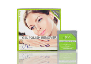 UV-NAILS Lacquer & Gel Polish Remover Pads With Acetone Ready to Use. 600 Pieces Count!!! Apple - Scent