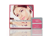 UV-NAILS Lacquer & Gel Polish Remover Pads With Acetone Ready to Use. 600 Pieces Count!!! Rose - Scent