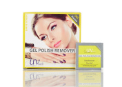 UV-NAILS Lacquer & Gel Polish Remover Pads With Acetone Ready to Use. 600 Pieces Count!!! Lemon - Scent