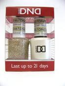 DND *Duo Gel* (Gel & Matching Polish) Glitter Set 467 - Legendary Diamond by DND Gel