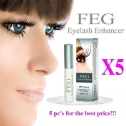 5 X BEST Eyelash Growth Product and Eyebrow Thickener. Most Effective Growth Serum with Conditioner used to LENGTHEN & THICKEN Eyelashes and Eyebrows; 100% Original with Anti-Fake sticker!!!