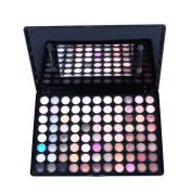 Maquita Professional Cosmetic 88 Matte Colours Eyeshadow Palette Eye Shadow kit with 2 Free Mini Eyeshadow Brushes