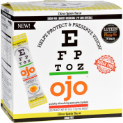Ojo Eye Care Crystals - Skinny Citrus Lutein Burst - 30 Packets