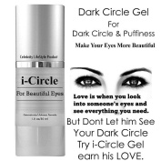 i-Circle Eye Cream For Under eye Dark Circles, Puffiness, Wrinkles & Bags