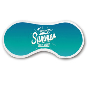 Promini Every Summer Has a Story Sleep Mask with Strap Lightweight Comfortable Eye Mask for Bedtime or Relaxation, Travel, Shift Work, Meditation