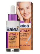 Balea Vital + Intensive Repair Face-Serum For Mature Skin (To age 75) with Calcium, Omega & Soya-Oil - No Animal Testing - 30ml by Balea