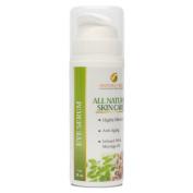 Natura Veda - All Natural Eye Serum - Anti Ageing - Moringa Oil Infused - 1 oz/30 ml