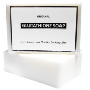 Original Glutathione Whitening Soap 120g Helps Diminish Blemishes and Renew Damaged Skin Tissues for Lighter, Younger-looking Skin.