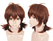 Cfalaicos Attack on Titan Isabel Margonohria Anime Cosplay Costume Wig +Free Wig CAP