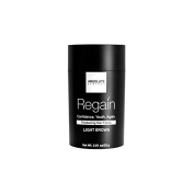 Regain (LARGE, LIGHT BROWN) Hair Thickening Fibres